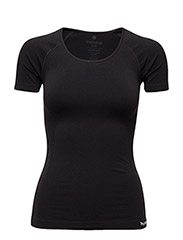 SUE SEAMLESS SS TEE - BLACK