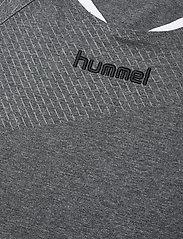 Hummel - AUTH. CHARGE SS TRAIN. JERSEY - t-shirts à manches courtes - dark grey melange - 2