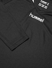 Hummel - AUTH. CHARGE LS POLY JERSEY - t-shirts à manches longues - black - 2
