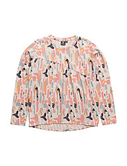 FLORA LS TEE - MULTI COLOUR GIRLS