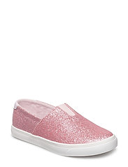 SLIP-ON BALLERINA GLITTER JR - FOXGLOVE