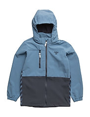 PEBBLE SOFTSHELL JACKET - COPEN BLUE