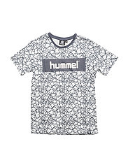 HMLBRAYDEN T-SHIRT S/S - BLACK/WHITE