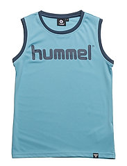 HMLFINN TANK TOP - MILKY BLUE