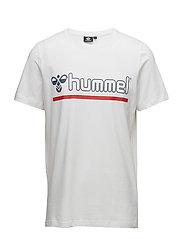 HMLBRICK T-SHIRT S/S - WHITE