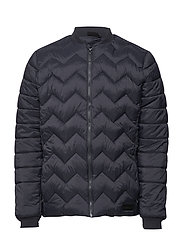HMLMILES JACKET - DARK NAVY