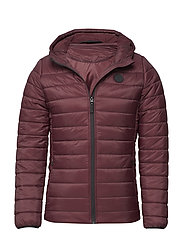 HMLHEATHER JACKET - VINEYARD WINE