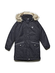 HMLAGNES COAT - DARK NAVY