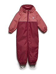 HMLKARLA SNOW SUIT - RUMBA RED