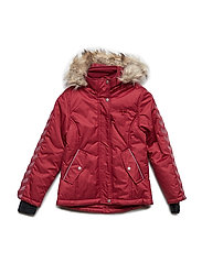 HMLTHERESA JACKET - RUMBA RED