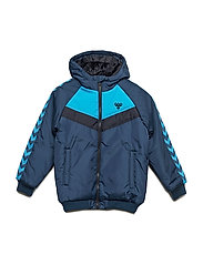 HMLWESTER JACKET - BLUE WING TEAL