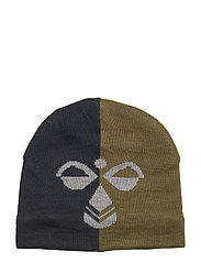 HMLSTARK HAT - BURNT OLIVE
