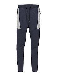 HMLCRIMSON PANTS - DRESS BLUE MELANGE