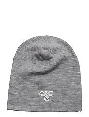 HMLBOB HAT - GREY MELANGE