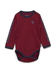HMLMARTIN BODY L/S - RUMBA RED