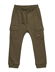 HMLDAVE PANTS - BURNT OLIVE