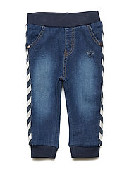 HMLJON PANTS - DARK DENIM WASH