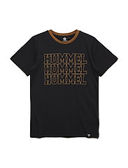 HMLBRANDON T-SHIRT S/S - BLACK
