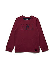 HMLROGER SWEATSHIRT - RUMBA RED