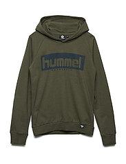 HMLCHAD HOODIE - BURNT OLIVE