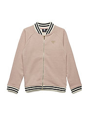 HMLOLIVIA ZIP JACKET - MELLOW ROSE