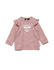 HMLJANNE T-SHIRT L/S - MELLOW ROSE