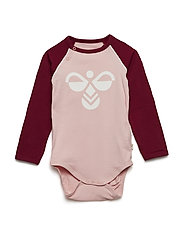 HMLTANJA BODY L/S - MELLOW ROSE