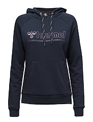 HMLLEISURELY HOODIE - DRESS BLUE