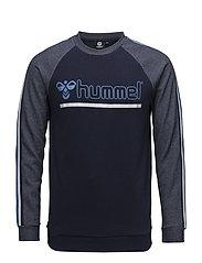 HMLACE SWEATSHIRT - DRESS BLUE