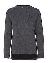 HMLROVIC SWEATSHIRT - DARK GREY MELANGE
