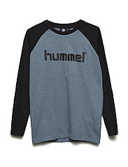 HMLWINSTON T-SHIRT L/S - STORMY WEATHER