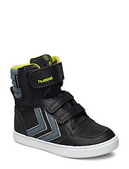STADIL SUPER POLY BOOT JR - BLACK/STORMY WEATHER