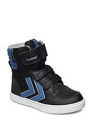STADIL SUPER POLY BOOT JR - BLACK/VALLARTA BLUE