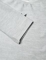 Hummel - HMLTUTTI GYMNASTIC SUIT - kleider - grey melange - 2