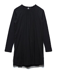 HMLKATIE DRESS L/S - BLACK