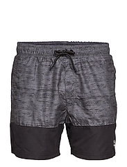 HMLRHODE BOARD SHORTS - BLACK
