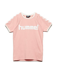 HMLMOBY T-SHIRT S/S - CORAL CLOUD