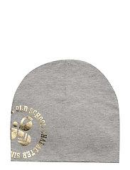 HMLLEA HAT - GREY MELANGE