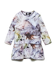 HMLPAULA DRESS L/S - ORCHID MIST