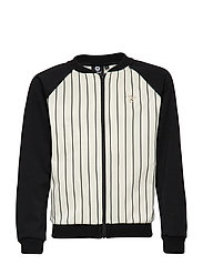 HMLTILDA ZIP JACKET - BLACK/WHITE