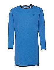HMLKATINKA DRESS L/S - NEBULAS BLUE