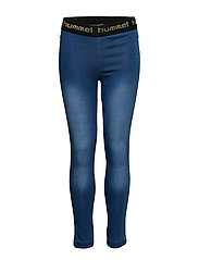 HMLLUNA TIGHTS - DENIM