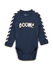 HMLBOOM BODY L/S - BLACK IRIS