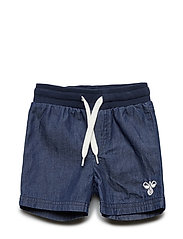 HMLJACO SHORTS - DENIM