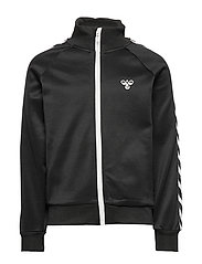 HMLKICK ZIP JACKET - BLACK