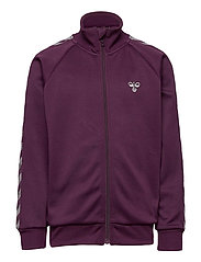 HMLKICK ZIP JACKET - BLACKBERRY WINE