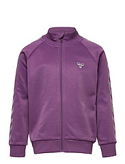 HMLKICK ZIP JACKET - CHINESE VIOLET