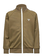 HMLKICK ZIP JACKET - MILITARY OLIVE