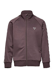 HMLKICK ZIP JACKET - SPARROW