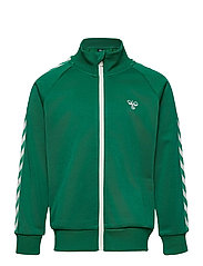HMLKICK ZIP JACKET - ULTRAMARINE GREEN